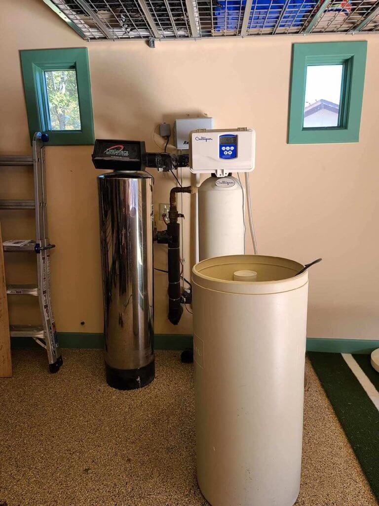 Before image with softener - carbon tank image