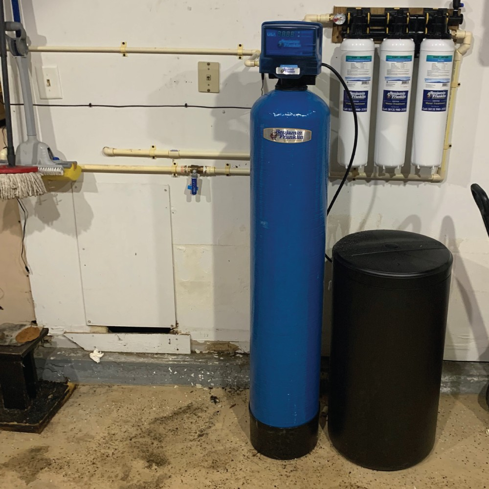 Installation with softener image