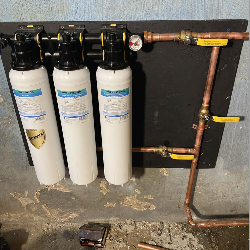 Union New Jersey basement installation image